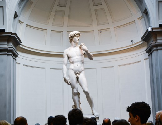 Meeting the David at Galleria dell Accademia - Florence Travel - @lacegraceblog1