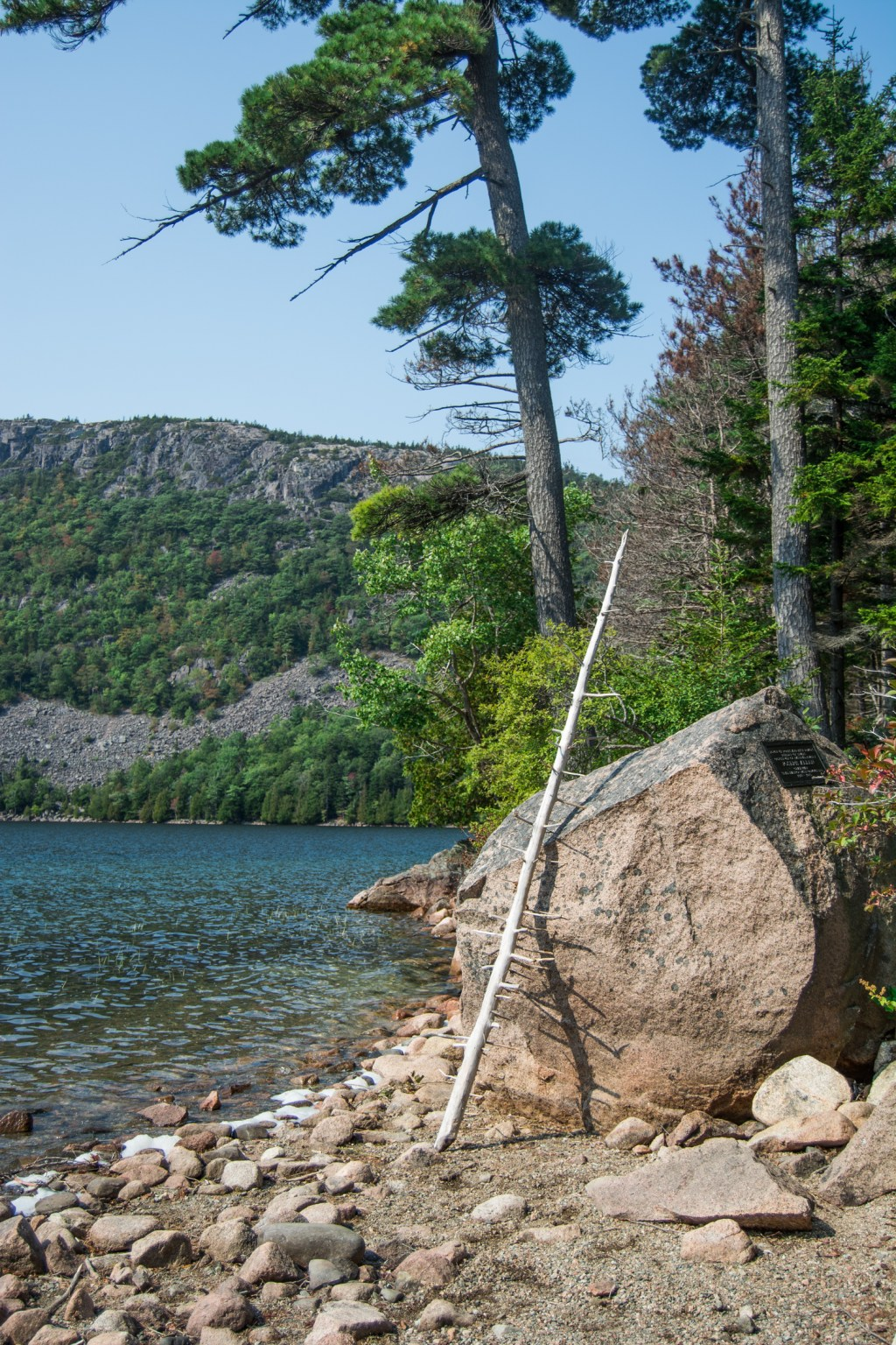 A Walk Around Jordan Pond - Maine Travel - @lacegraceblog1