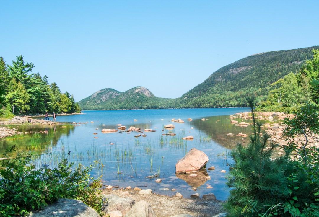 A Walk Around Jordan Pond - Maine Travel - @lacegraceblog1