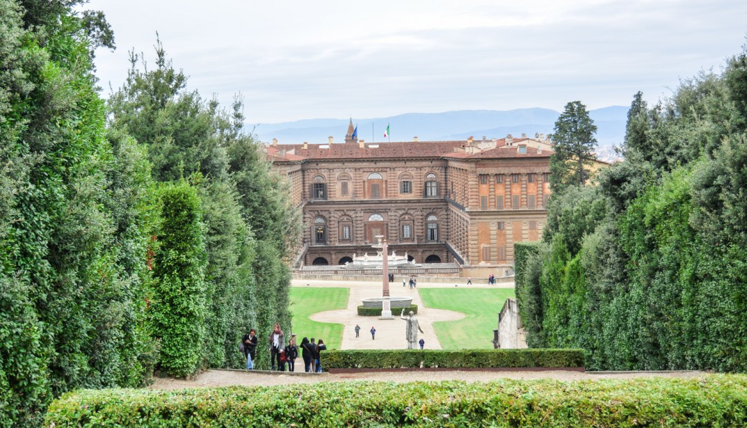 The Boboli Gardens of Pitti Palace - Florence Italy - Lace and Grace