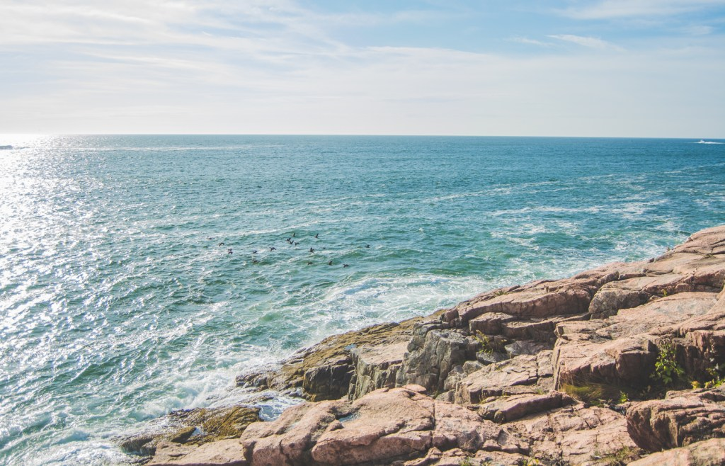 Cliff Walk in Acadia National Park - Maine Travel - @lacegraceblog1