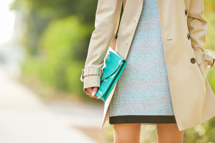 fashion blogger, petite fashion blog, fashionista, lace and locks, los angeles fashion blogger, banana republic tweed dress, banana republic trench coat, work attire, work outfit outfit of the day, affordable fashion, asian fashion blogger, streetstyle, christian louboutin pumps