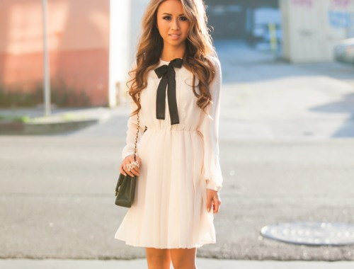 fashion blogger, petite fashion blog, asos dress, bow dress, romantic dress, valentines day look, valentines day fashion, lace and locks, los angeles fashion blogger, petite fashion blogger, fashionista, streetstyle, outfit of the day, asian fashion blogger, affordable fashion