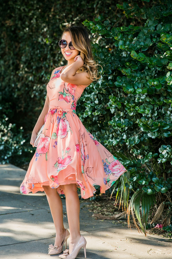 Lace and locks blog petite fashion blogger spring for Petite wedding guest dress
