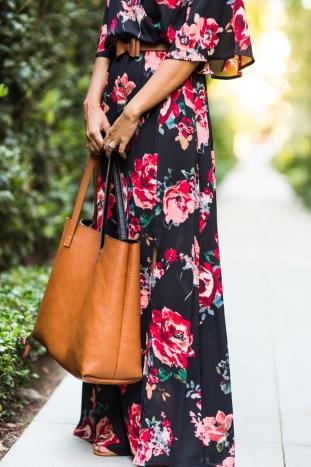 petite fashion blog, lace and locks, los angeles fashion blogger, floral maxi dress, morning lavender shop, cute maxi dresses, fall dresses