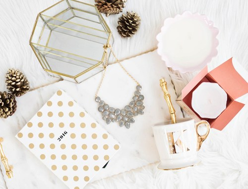 lace and locks, holiday gift guide, gifts under $100, girlie gifts