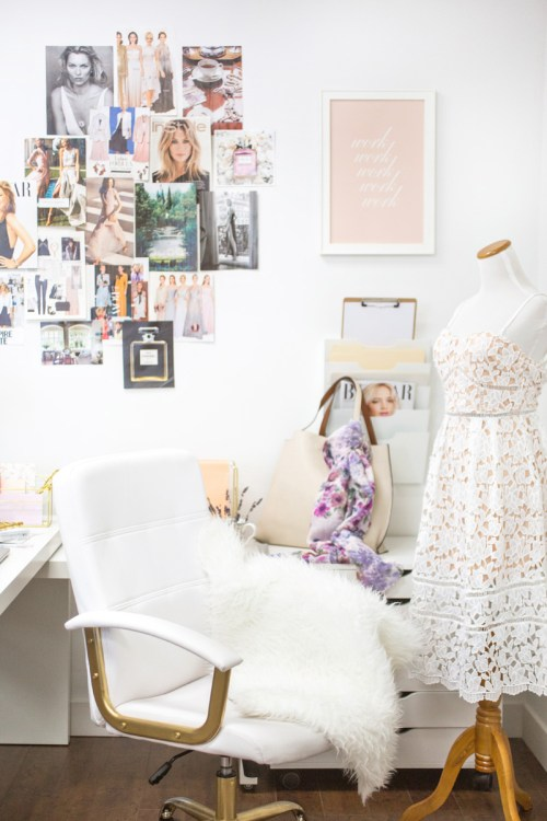 lace and locks, petite fashion blogger, bosslady lessons, girlbosses, morning lavender company, morning lavender office