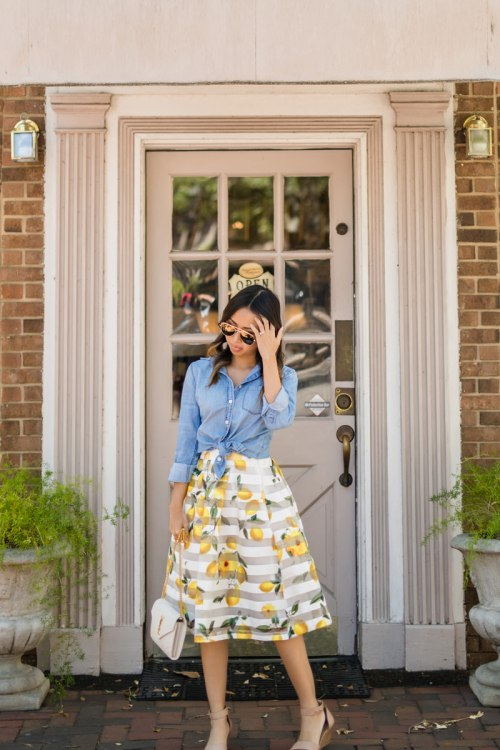 lace and locks, petite fashion blogger, oc fashion blogger, charleston travel, cute spring outfit, cult gaia ark bag, cute mules, cute spring look