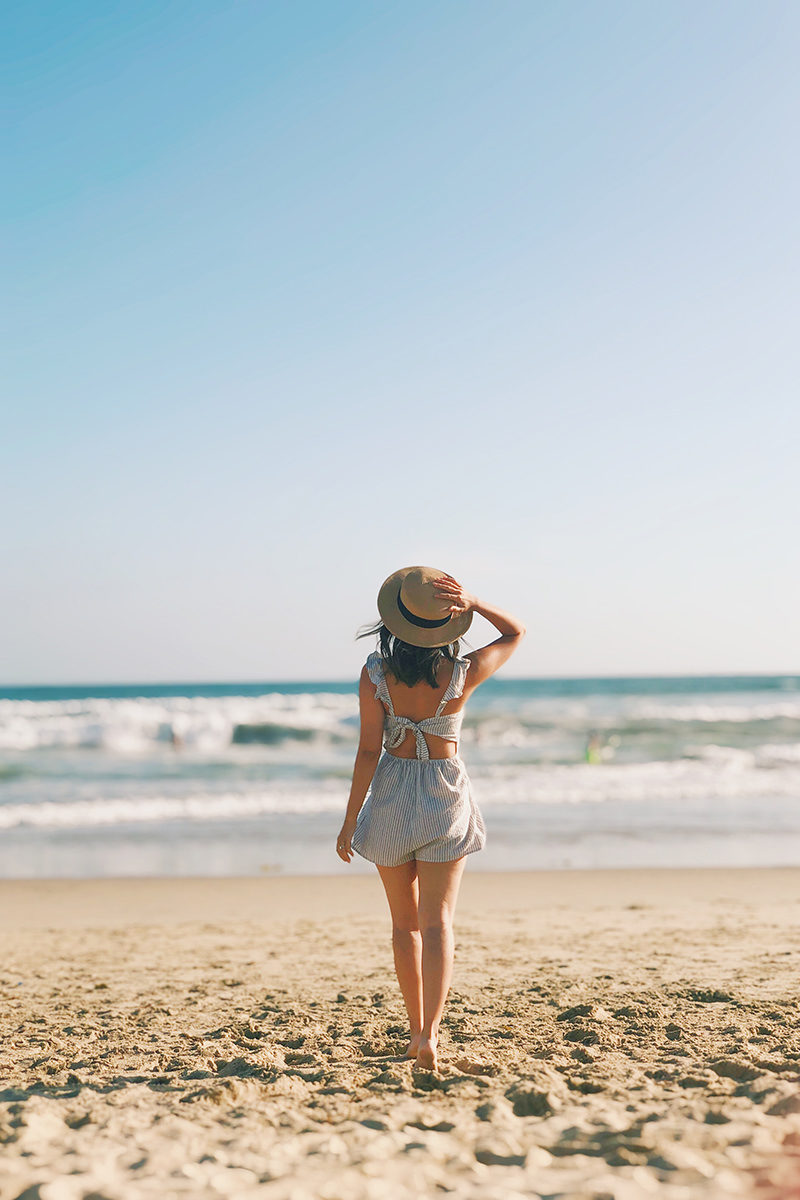 morning lavender romper, beach romper, beach fashion, lace and locks beach