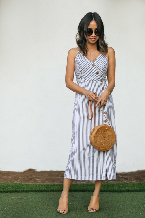 Morning Lavender Sydney Midi Dress