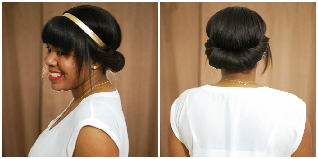 Hair Tutorial Lace & Pearls