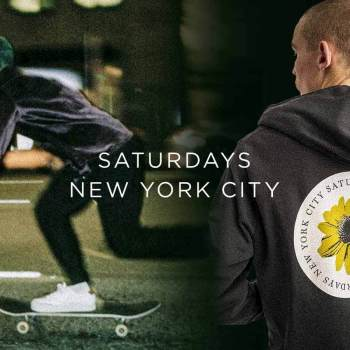We showcase shirts jackets hoodies and more for spring 2020 from streetwear brand Saturdays NYC now featured on thedrop.com.