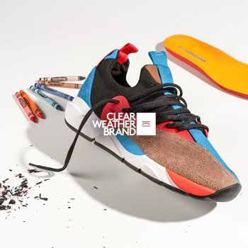 We introduce a new limited edition Cloud Stryk Crayon sneaker release from Clearweather Brand on thedrop.com.