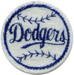 2'' - 5.1 cm - Navy Dodgers Baseball Patch2'' - 5.1 cm - Navy Dodgers Baseball Patch