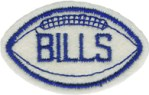 BILLS Football Patch AppliqueBILLS Football Patch Applique