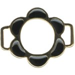 Black/Gold Metal BuckleBlack/Gold Metal Buckle