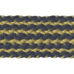 7/8'' Braided Trim - Lime/Black, Yellow/Black7/8'' Braided Trim - Lime/Black, Yellow/Black