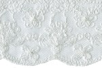 2 5/8'' White English Netting Lace2 5/8'' White English Netting Lace