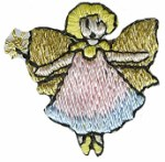 1 3/8'' by 2 1/8'' Fairy Applique1 3/8'' by 2 1/8'' Fairy Applique