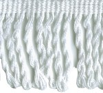 2 1/2'' White Bullion Fringe2 1/2'' White Bullion Fringe