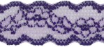 7/8'' Tinted Lilac Stretch Lace Trim7/8'' Tinted Lilac Stretch Lace Trim