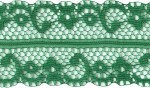 1 5/8'' Christmas Green Lace Trim1 5/8'' Christmas Green Lace Trim