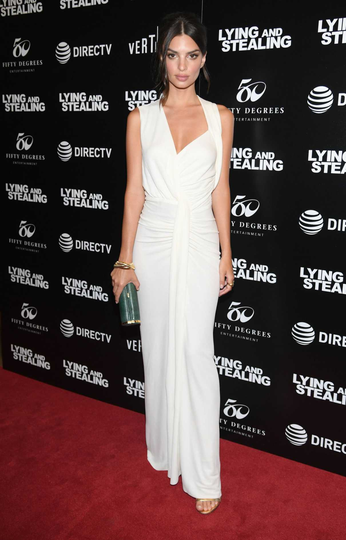 Emily Ratajkowski Attends The Lying And Stealing Screening