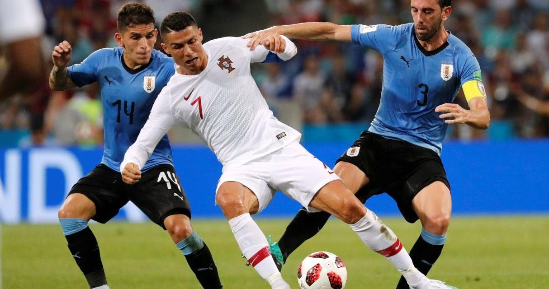 Uno x uno Uruguay-Portugal