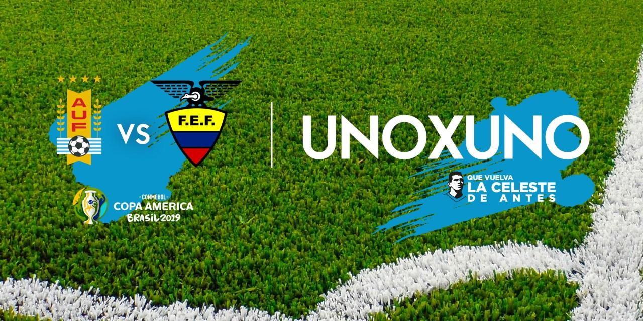 1×1 – Uruguay vs Ecuador