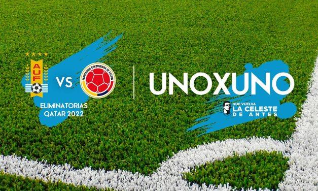 1X1 Colombia Vs. Uruguay