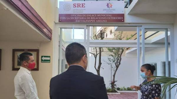 Abrirán en Zacualpan oficina de la Secretaría de Relaciones Exteriores