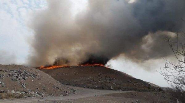 Se logró el control del 90% del incendio en El Jabonero - Mazatepec
