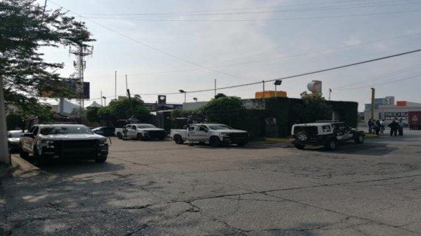 Dos heridos dejó balacera cerca de la estación de gasolina del Paso Expres en Cuernavaca