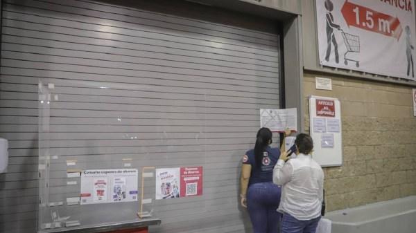 Clausuran negocios en Temixco por incumplir con medidas sanitarias contra Covid-19