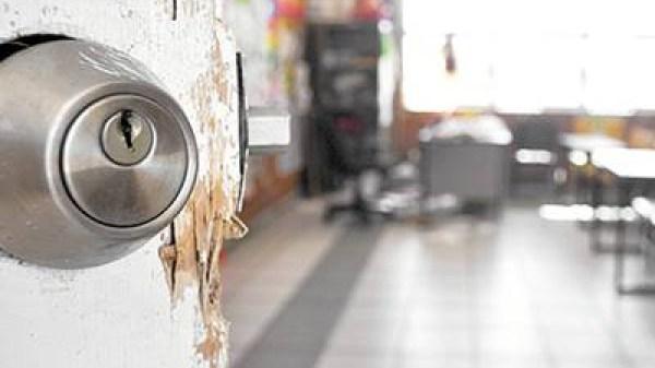 Encuentran equipos electrónicos, sellos institucionales y droga en cateos realizados en la zona sur de Morelos, debido a denuncias de robo a planteles educativos
