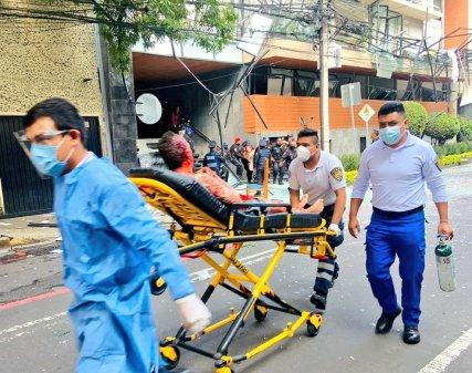 Explosión por fuga de gas en edificio de CMDX, contabiliza 1 persona fallecida y 29 heridos