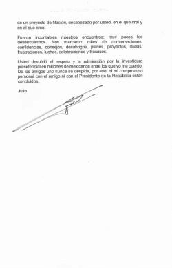 AMLO confirma la salida del gabinete federal de Julio Scherer, quien se desempeñaba como Consejero Jurídico de Presidencia