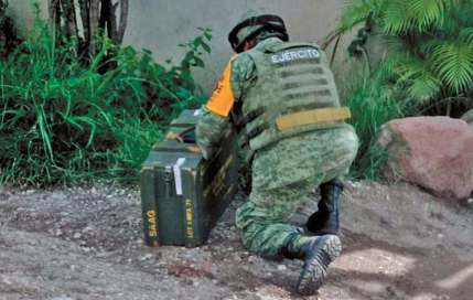Cartucho de dinamita es encontrado en la colonia Vicente Guerrero de Cuautla