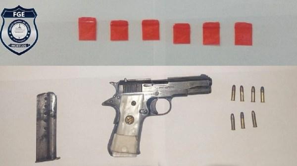 Lo buscaban por secuestro exprés y ahora además será investigado por portación de arma de fuego y posesión de droga