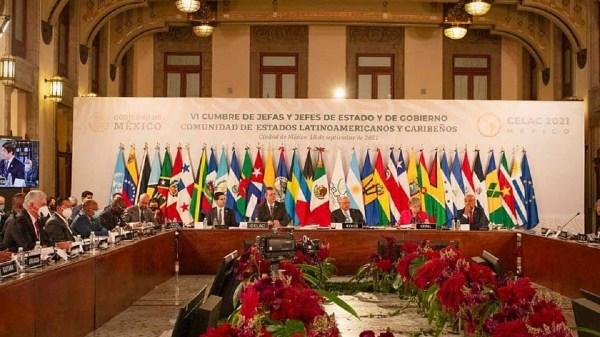 Presidente AMLO inaugura la VI Cumbre de la CELAC con un mensaje de unidad desde el Palacio Nacional
