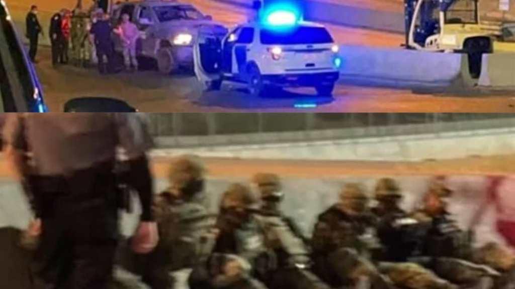 Siete militares mexicanos fueron detenidos y esposados por agentes de aduanas de Estados Unidos en la frontera