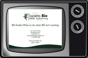 Lacerta Bio Webinar on Business Development