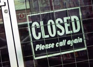 Ben Venue Closed