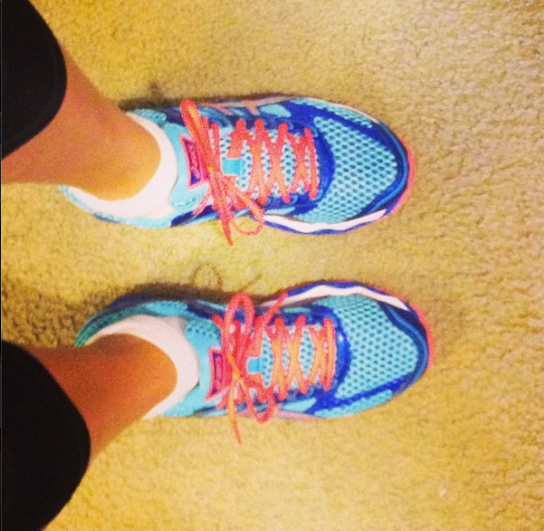 24 km in new shoes!