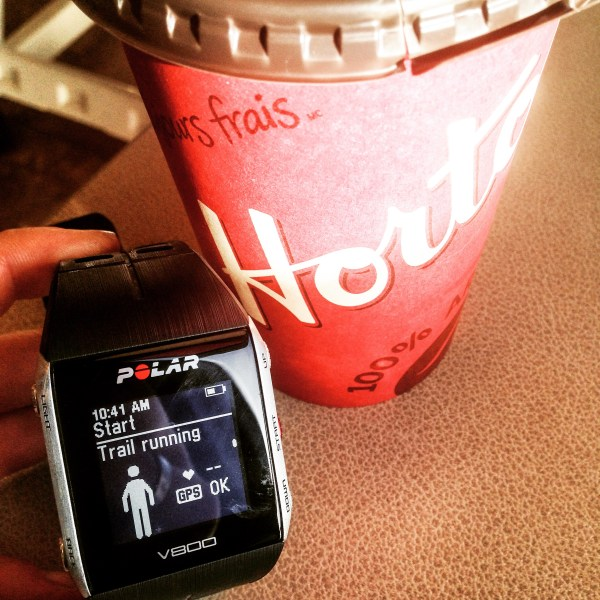 Sunday morning coffee with a running mentor.