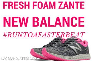 I #RuntoaFasterBeat with New Balance #FreshFoamZante