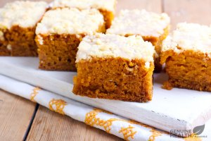 Protein Pumpkin Squares and Getting Ready to RAID