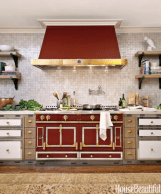 Marsala Color kitchen