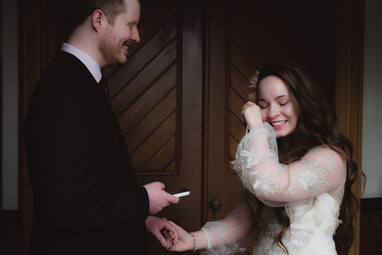 Tearful Fredericton Wedding - Brunswick Street Baptist - The Tipsy Muse - The Hazen Centre Oromocto 2019 -19