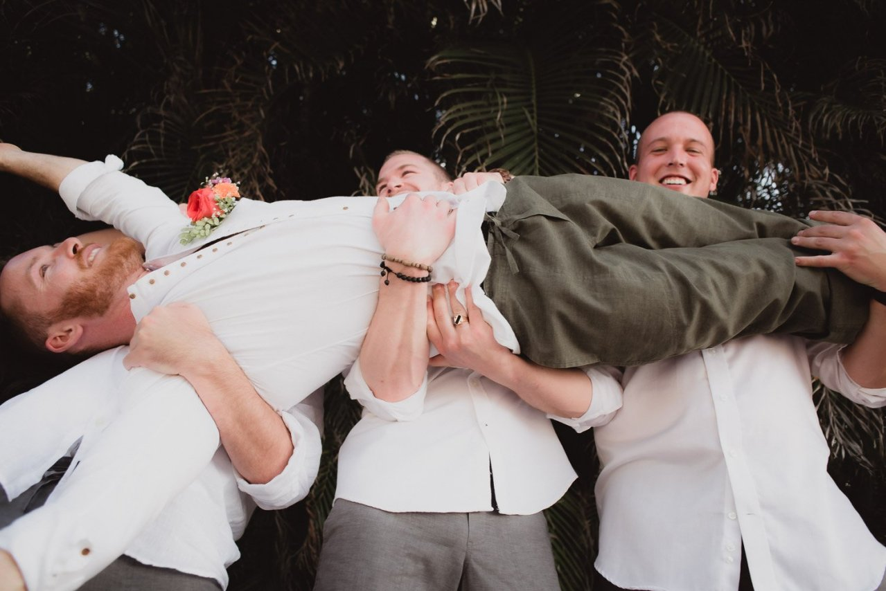 Bridal party men